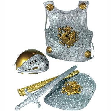 Knight Dress Up Armor Set - Silver