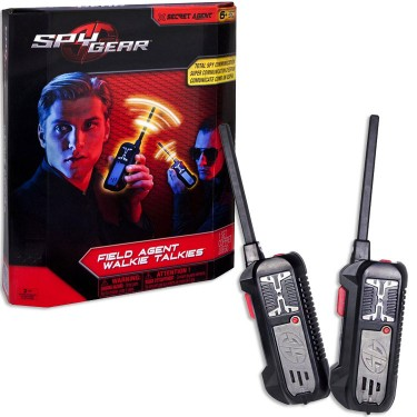 Spy Gear Walkie Talkie 2 pc Set