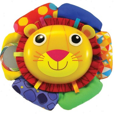 Lamaze Logan the Lion Soother Crib Toy