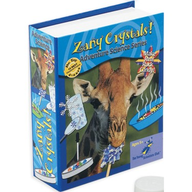 Zany Crystals Kids Science Kit