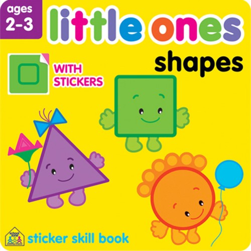 Little Ones Shapes Toddler Sticker Activity Book