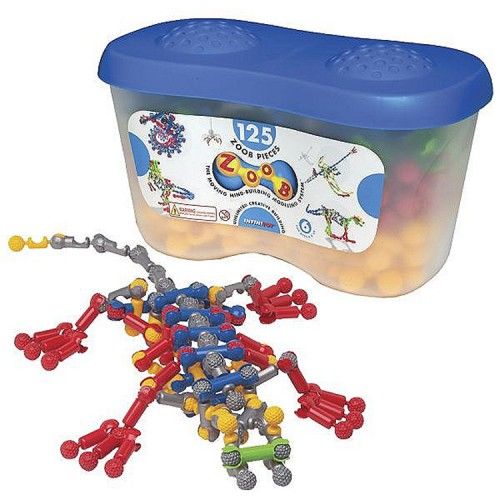 Zoob 125 pc Moving Building Set in a Storage Tub
