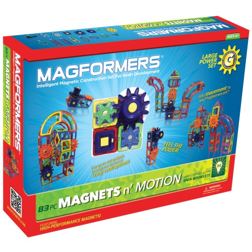 Magformers Large Power 83 pc Magnetic Building Set