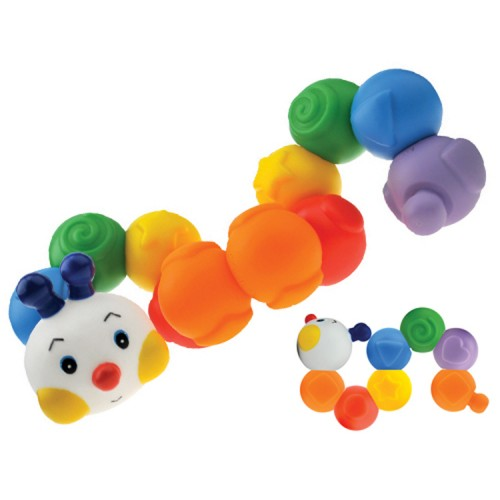 Build an Inchworm Baby Linking Toy