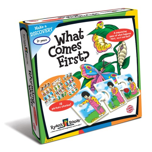 What Comes First? Sequencing Puzzle