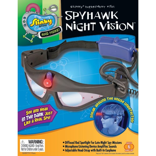 Night Vision Goggles with Listening Device Spy Gear Set