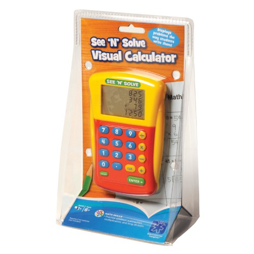See n Solve Visual Calculator for Kids