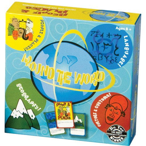 Around the World Geography Trivia Board Game