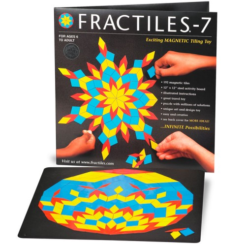 Fractiles-7 Magnetic Mosaic Tiles Toy