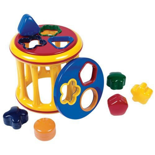 Rolling Shape Sorter Toddler Activity Toy