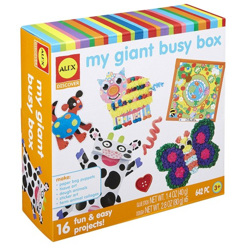 My Giant Busy Box Arts & Crafts Kit