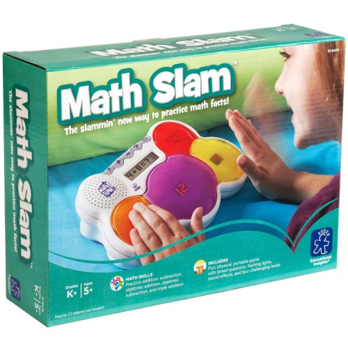 Math Slam Electronic Math Game