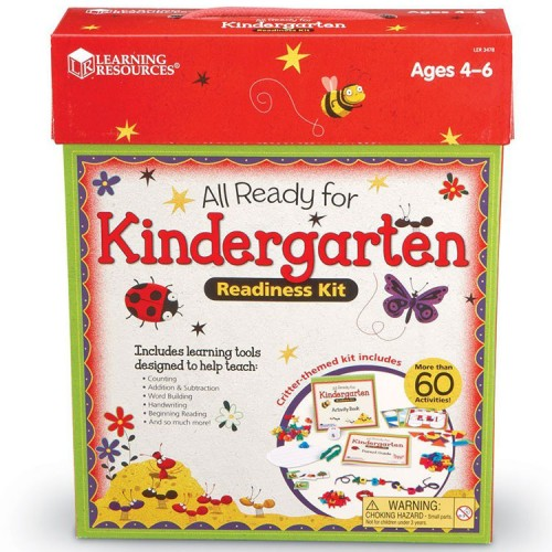 All Ready for Kindergarten Readiness Learning Kit