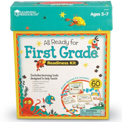 All Ready for 1st Grade Readiness Learning Kit