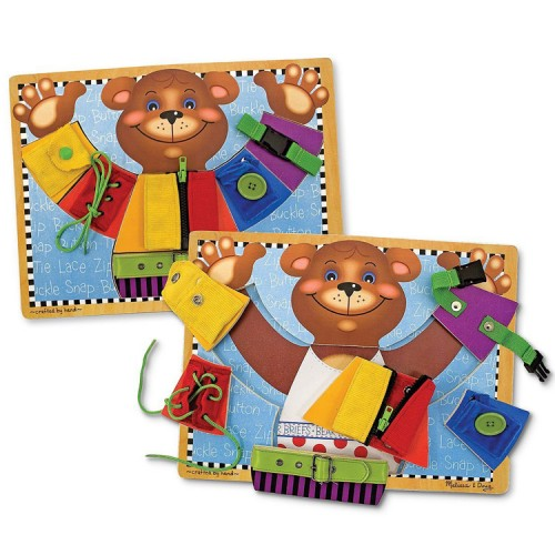 Basic Skills Board Learn to Dress Activity Toy