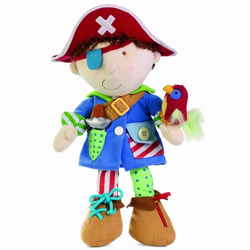 Dress Up Pirate Learn to Dress Toy