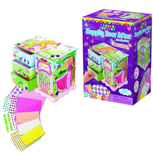 Sticky Mosaics Happily Ever After Jewelry Box