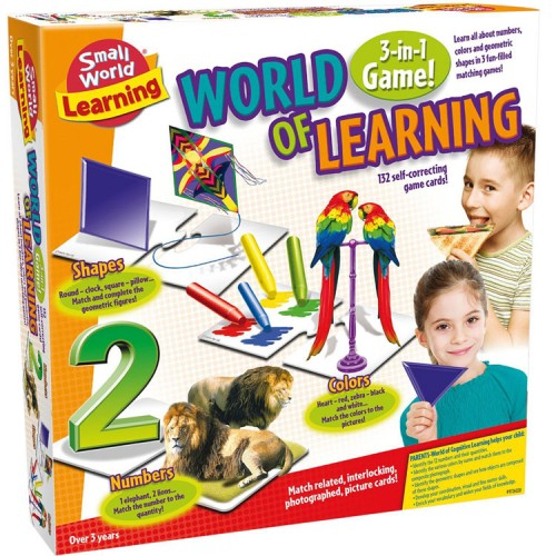 World of Learning 3-in-1 Early Math Games Set