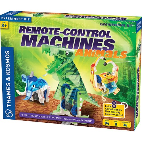 Remote Control Machines Animals Build Bionic Creatures Science Kit