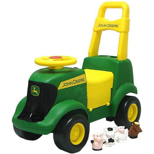 John Deere Tractor Scooter Toddler Ride-on Toy